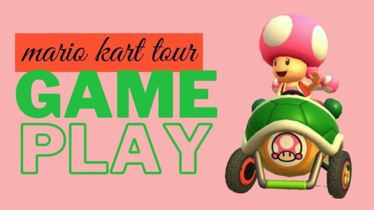 Intermediate Level Mario Kart Tour Gameplay (Manual Drift + Not Manual Drift)