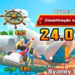 Nonstop Combo/High Score Sydney Sprint 2R – Combo impecável Volta em Sydney 2R – Mario Kart Tour